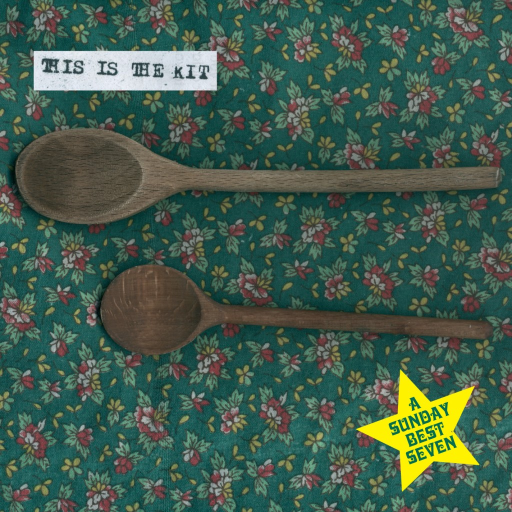 037 - SBEST37 - THIS IS THE KIT - two wooden spoons