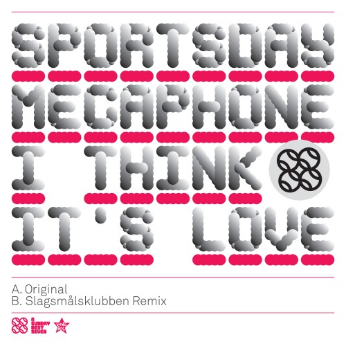064 - SBESTS64 - SPORTSDAY MEGAPHONE - I THINK IT'S LOVE
