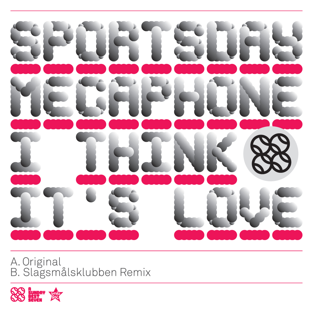 064 - SBESTS64 - SPORTSDAY MEGAPHONE - I THINK IT'S LOVE