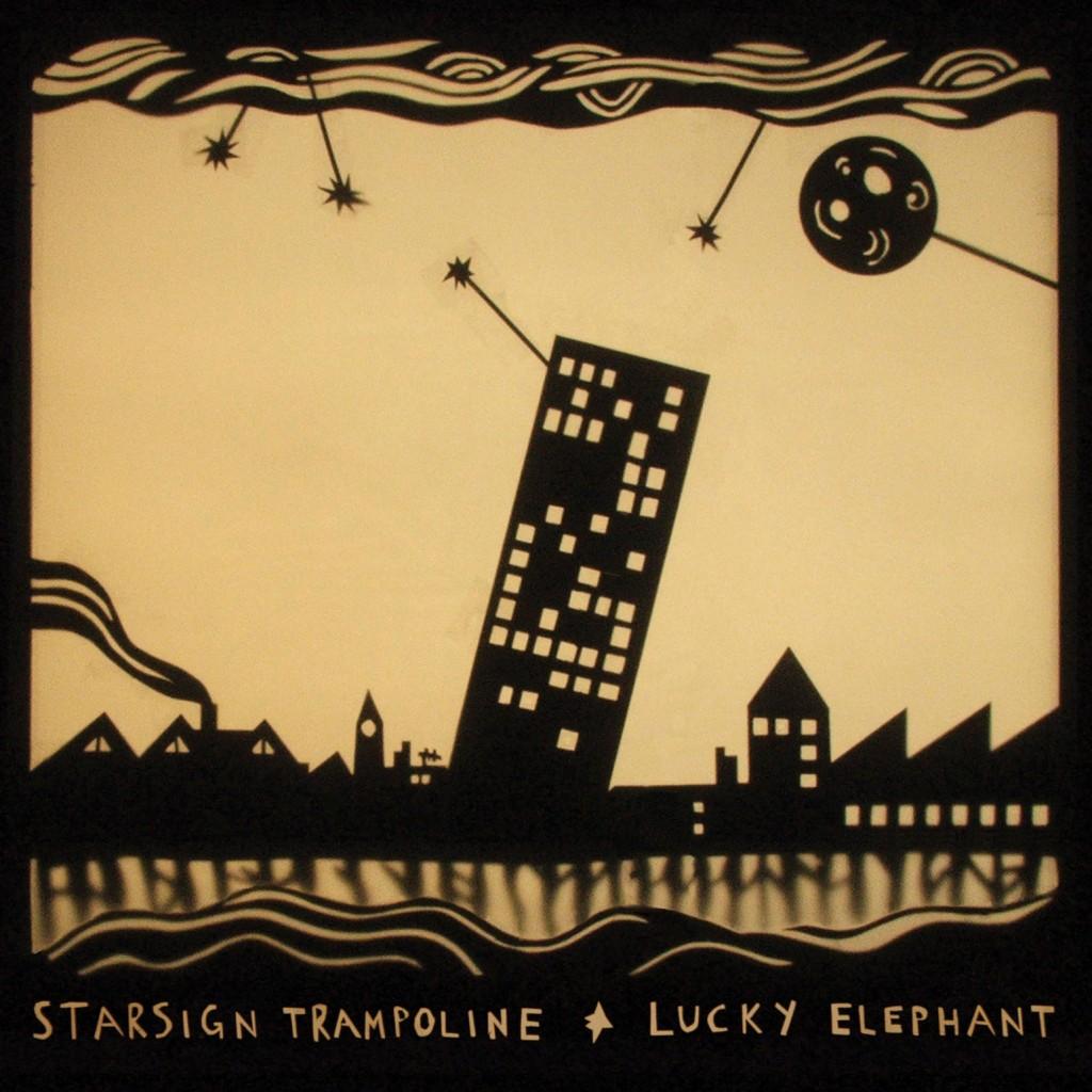LUCKY ELEPHANT - STARSIGN TRAMPOLINE