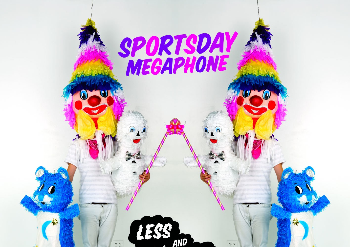 SBEST43D - SPORTSDAY MEGAPHONE - LESS AND LESS EP