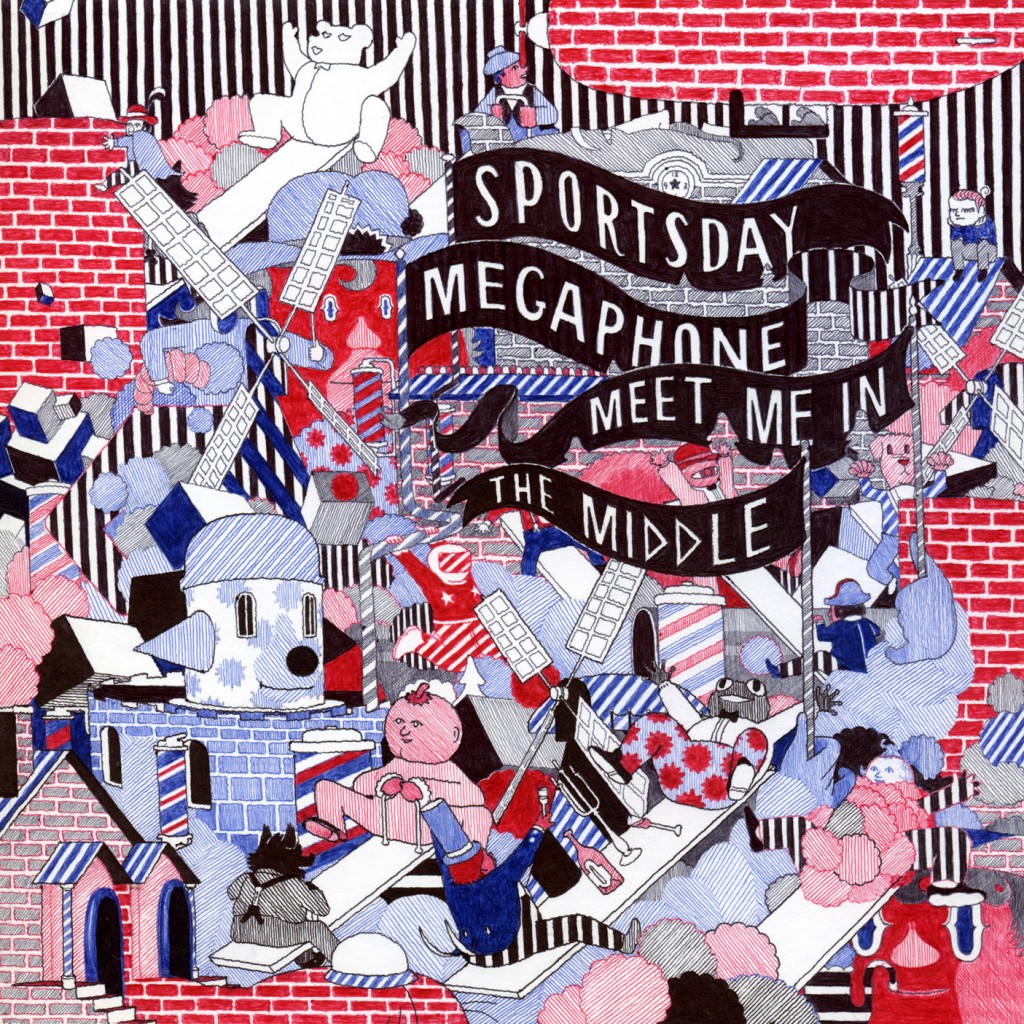 SBESTS67 - SPORTSDAY MEGAPHONE - MEET ME IN THE MIDDLE
